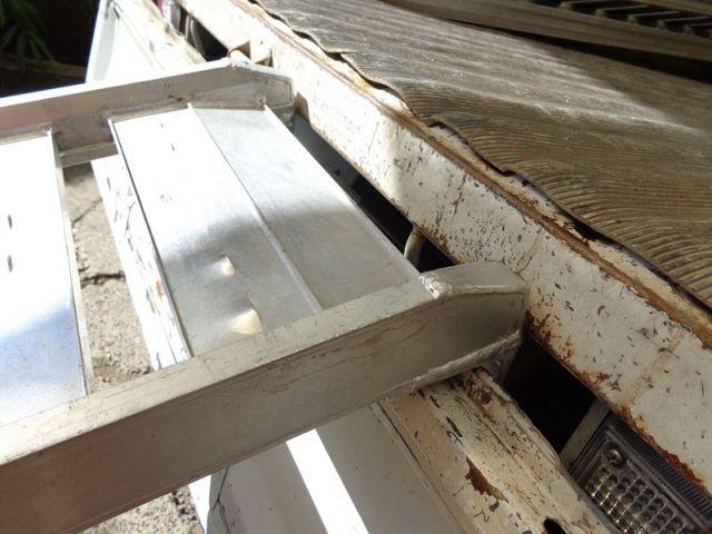 アルミブリッジ折りたたみ式 BAW-240-30-0.5-6